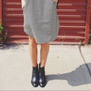 Madewell Ames Ankle Boots Heeled Leather Booties